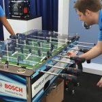 Ξύλινο ποδοσφαιράκι με ηλεκτρικά κατσαβίδια