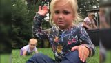 Funny children's reactions