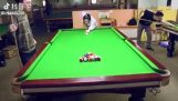 When you're a magician in billiards