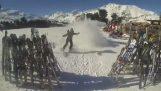 Accidente de esquí