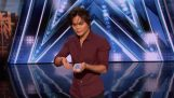 The magician Shin Lim makes an unlikely trick deck