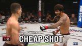 Αθλητής του MMA παίρνει ένα καλό μάθημα