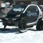 Ένα Smart για το χιόνι