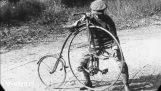 Evoluția biciclete din 1818 până în 1890