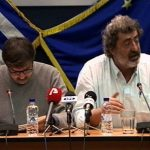 Ligne santé Secrétaire Paul Polakis lui aussi avec un journaliste