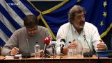 Καβγάς του υφυπουργού υγείας Παύλου Πολάκη με δημοσιογράφο