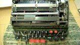 Διαίρεση με το μηδέν σε μια μηχανική αριθμομηχανή