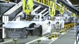 The construction of a Porsche in 120 seconds
