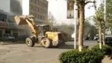 Bulldozers in Brawl