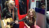 Tzamarisma във Франкфурт метро