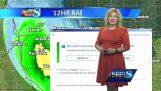 A frissítés a Windows 10 megáll az időjárás-előrejelzés
