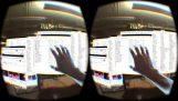 Computerschreibtisch in augmented-reality