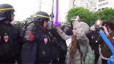 Θύμα αστυνομικής βίας