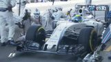 The fastest pit stop in Formula 1