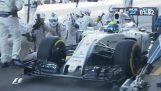 फॉर्मूला 1 में सबसे तेजी से पिट स्टॉप
