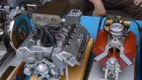 Ручної роботи мініатюрні двигунів