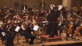 """El """"Marcha Imperial"""" Vivo de una orquesta sinfónica"""