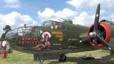 Готини радиоуправляеми модели на B-25 и Bf 109