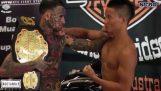 Ένας μαχητής του MMA το παίζει σκληρός
