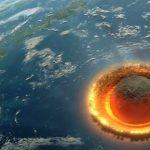Εξομοίωση σύγκρουσης αστεροειδή με τη Γη