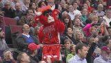 Mest underholdende maskoter i NBA