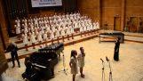 "Children's choir sings the ""Nothing Else Matters"""