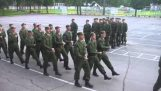 """When the Russian army sings the """"Barbie Girl"""""""