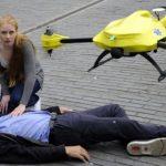 Το drone ασθενοφόρο