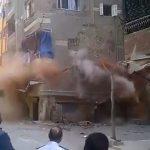 Κατάρρευση πολυκατοικίας στην Αίγυπτο