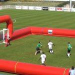 Θεαματικό γκολ σε ποδοσφαιρικό αγώνα τυφλών