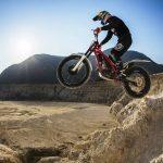 Trials με μοτοσικλέτα στη Νίσυρο