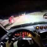 Επικίνδυνος οδηγός κάνει σλάλομ ανάμεσα σε αυτοκίνητα με 200 χλμ/ω