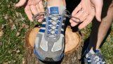 La manera correcta de roscas zapatillas