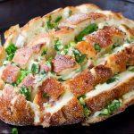 Μια λαχταριστή συνταγή με ψωμί και κρεμμύδι