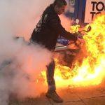 Φωτιά στο burnout