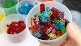 Πως να φτιάξεις καραμέλες σε σχήμα LEGO