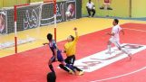 An awesome goal in match 5×5