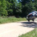Ιπτάμενα αυτοκίνητα σε αγώνα Ράλι