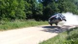 Flygande bilar race Rally