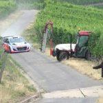 Τρακτέρ εναντίον αυτοκινήτου σε αγώνα Ράλι