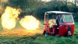 究極の戦争マシンで三輪車を変換します。