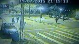 Hogyan viselkedni megáll a rendőr sisak, Brazília;