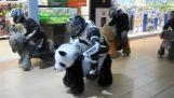 Незаконно се борят в мол