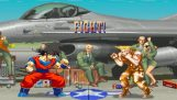 Goku εναντίον Street Fighter 2