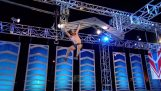 "O primeiro vencedor depois de sete anos, no concurso ""Guerreiro ninja"""