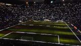 Úžasnú show na štadióne FC Barcelona