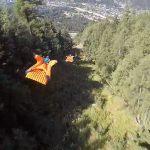 Συναρπαστική πτήση με Wingsuit