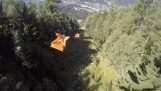 Excitant vol Wingsuit