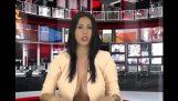Noticiero en Albania