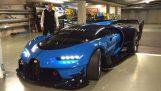 फ्रैंकफर्ट मोटर शो में अद्वितीय दृष्टि Bugatti GT